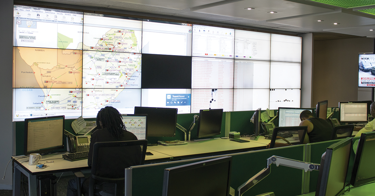 Network Operations Centre (NOC) at Broadband Infraco